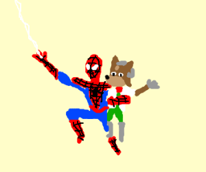 spider-man and fox