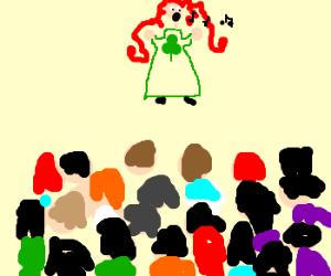 popular irish singer