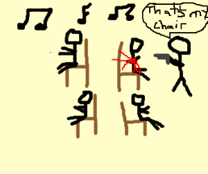 A killer game of musical chairs