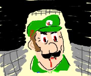 Vampire Luigi with hat