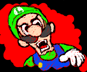 Vampire Luigi scopes choice neck