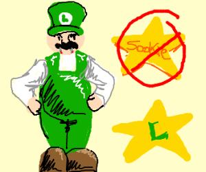Vampire Luigi will be True Blood star.