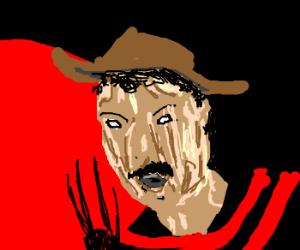 Freddie Mercury becomes Freddy Krueger