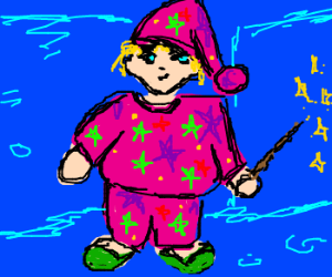 fat mages pajamas crazy colors