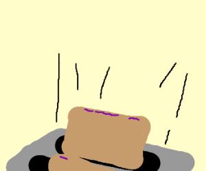 Suddenly... pop-tarts.