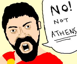 """Leonidas, """" This is Sparta!"""""""