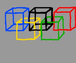 Olympic cube