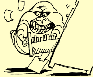 Business Slimer wants to file something