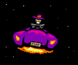 pimp-bot in space