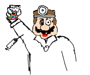 The only reason Mario became Dr.