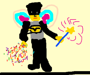 Batman is the Sprinklefairy