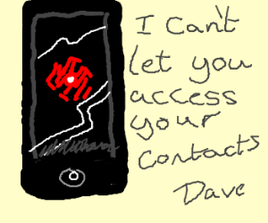 HAL9000 - the new mobile phone OS...