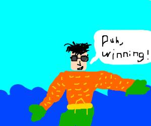 Charlie Sheen is an Aqua God!