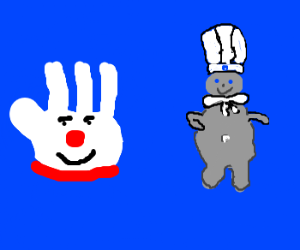 Hamburger Helper Glove & Doughboy