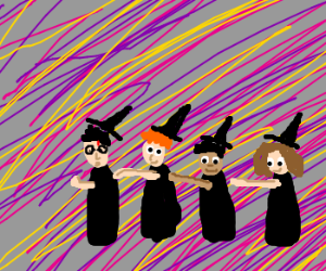 Harry Potter leads a conga line.