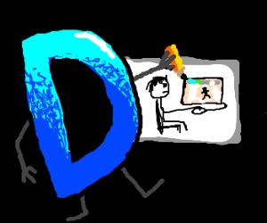 Drawception drawing a drawer