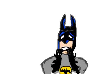 batman is worried