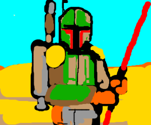 Boba Fett becomes a Sith Lord