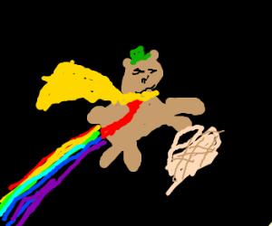 super teddy farts rainbows