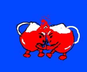 Kool Aid wrestling