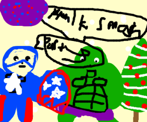 Avengers christmas party