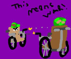 wheelchairs war