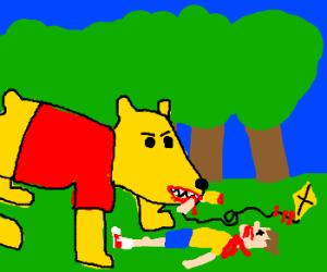 Winnie the Pooh killed Christopher Robin
