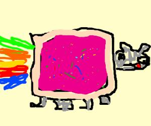 Rainbow Cat!