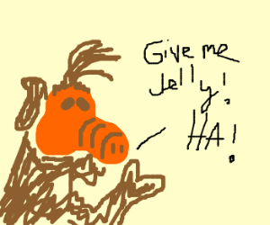Alf wants jelly