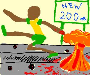 New Sport: 200m minefield run