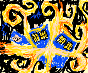 Vincent Van Gogh does Doctor Who