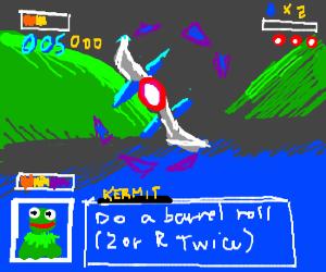 Starfox and Hermit the Frog dissintegrat