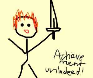 Achievement Unlocked: Ginger Sword!