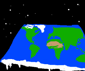 the earth actually IS flat