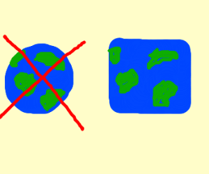 The Earth is not round!