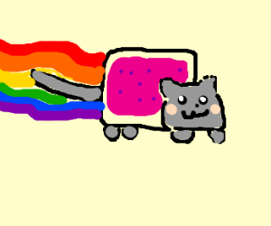 Old School Nyan Cat Videogame!