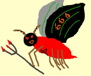 Demonic butterfly