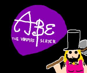 Abraham linclon...vampire hunter