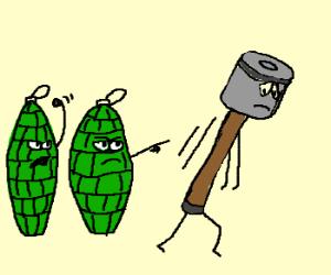 Grenade Discrimination