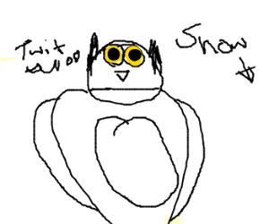 a snow owl ???