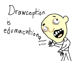 "I never heard ""derp"" before Drawception"