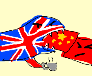 English sinks teeth into Chinese