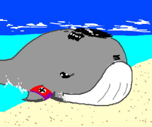 Nazi Land Whale