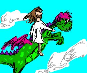 jesus rides on puff the magic dragon