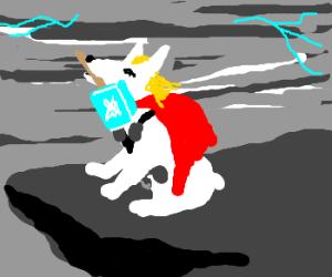 Dog Thor