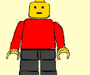 Solemn Lego man