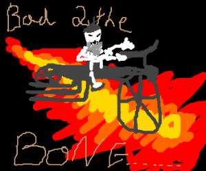 Harley-Riding Skeleton