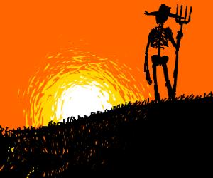 Skeleton Farmer: Bad to the Bone