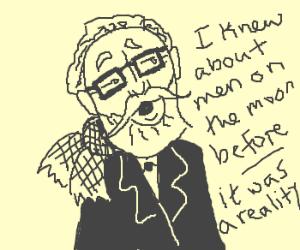 Hipster Jules Verne