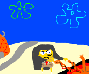 Spongebob summons hell in bikini bottom